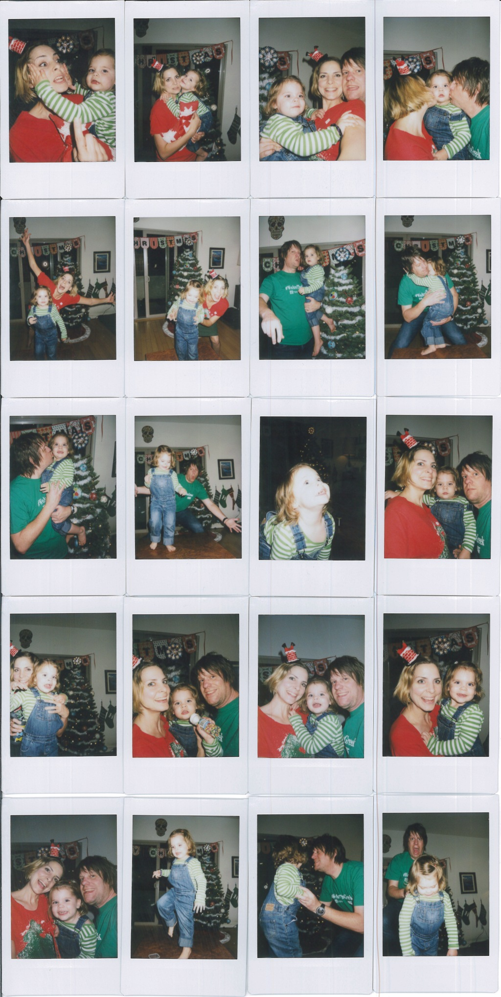 2014 Christmas Polaroids