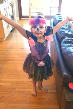 Sugar skull princess. Halloween 2016